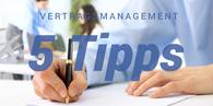 5 Tipps zur Vertragsgestaltung